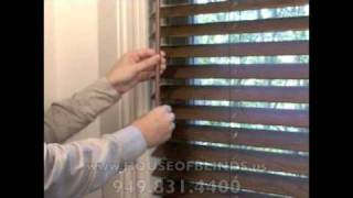 Plantation Wooden Shutters House Of Blinds Irvine