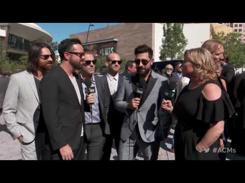 2017 ACM Awards: Old Dominion Red Carpet Interview