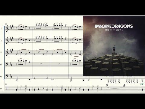 Radioactive for Brass Quintet Sheet Music
