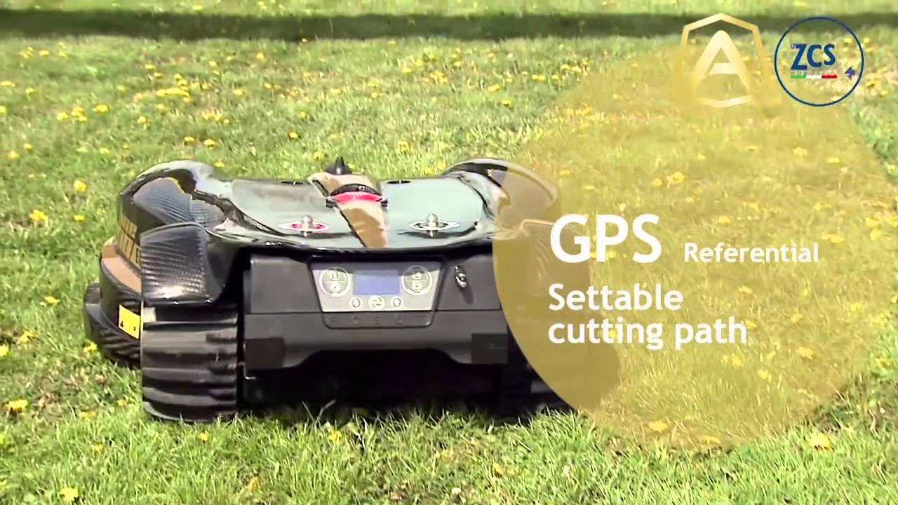 L400 Commercial Robotic Lawnmower By Lawnbott Youtube