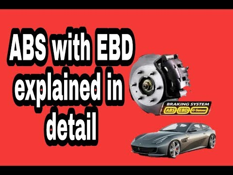 Electronic brake force distribution system