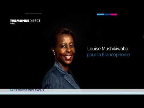 Portrait de Louise Mushikiwabo, secrétaire générale de l'OIF