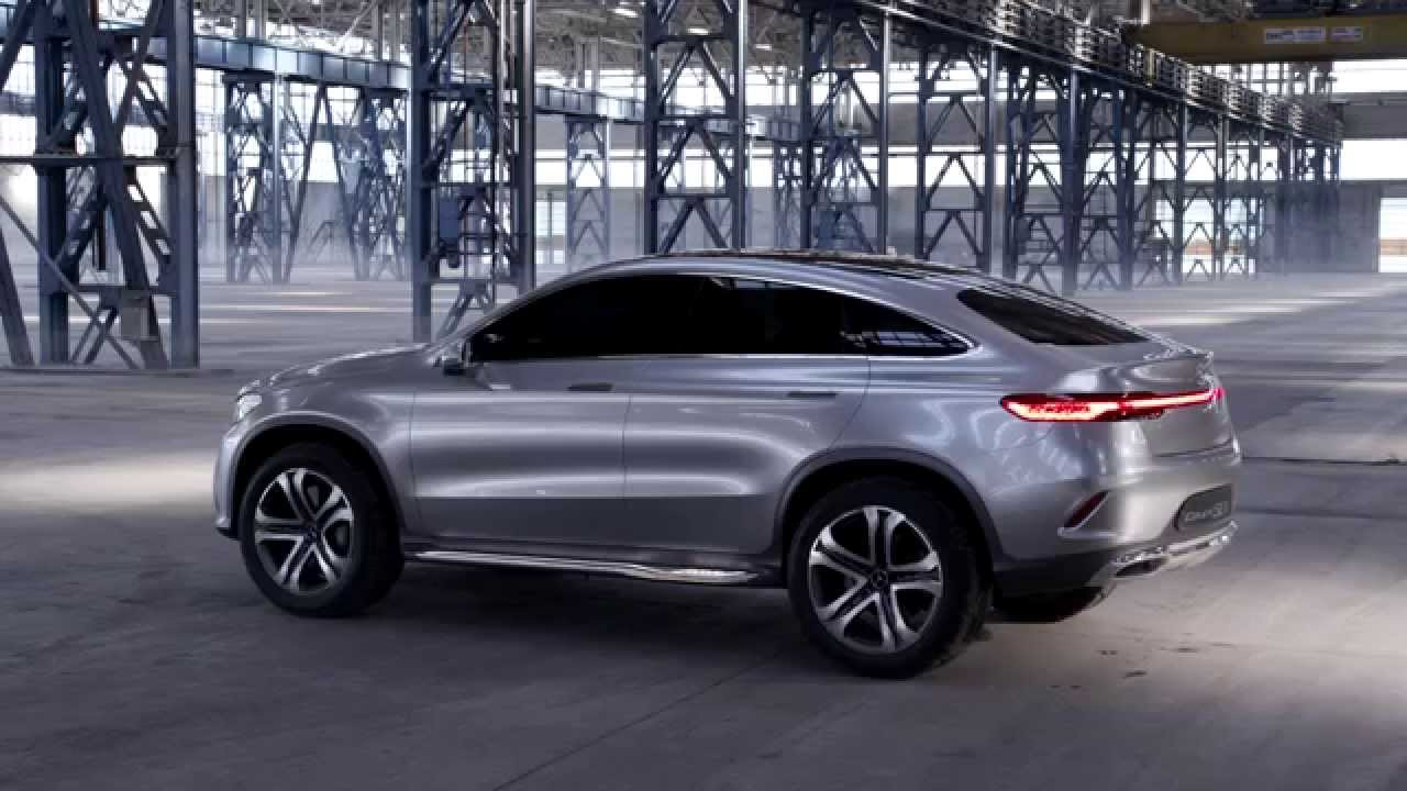 Mercedes concept coup suv youtube for Mercedes benz suv coupe