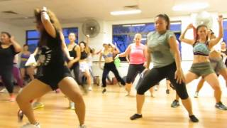 Bunji - Dance In Paint: Australia Soca Dance Workshop with La Shaun Prescott of Elle NYTT