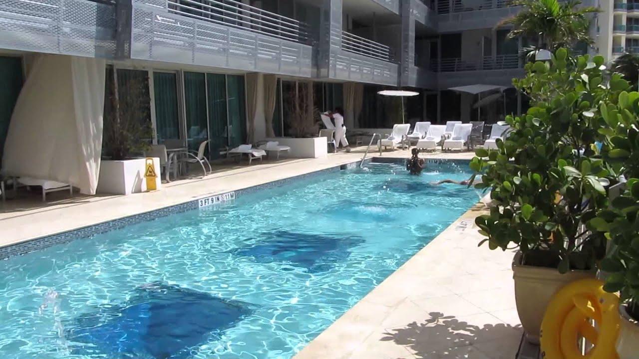 Z Ocean Crown Plaza South Beach Miami Hotel Pool Tour