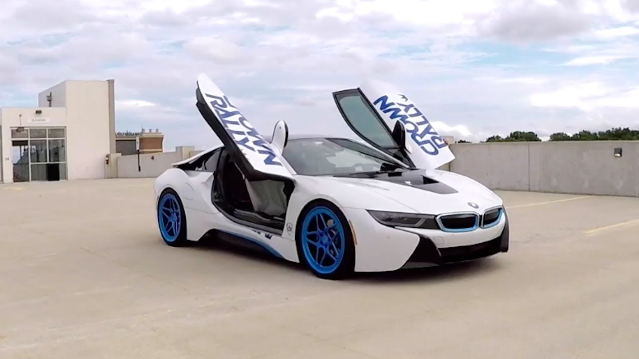 Lowering My Bmw I8 And Visiting Pittsburgh Cars Coffee Youtube