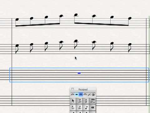 Connected Music Notes Stems And Flags Explained