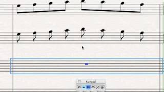 Connected Music Notes (Stems And Flags) Explained