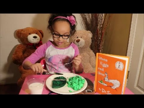 Story Time With Zaria - Green Eggs and Ham