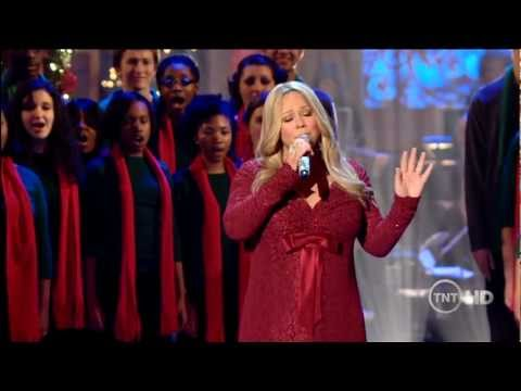 HD Mariah Carey  O Come All Ye Faithful  at Christmas In Wshington  2010