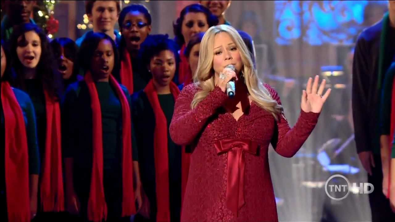 Youtube Mariah Carey Christmas.Hd Mariah Carey O Come All Ye Faithful Live At Christmas In Wshington 2010