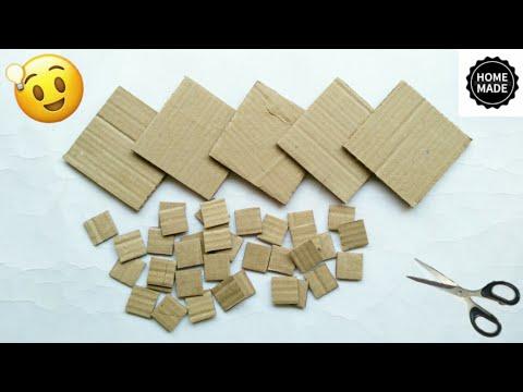 Best out of waste craft ideas | Cardboard craft ideas | best use of old cardboard | #HMA476