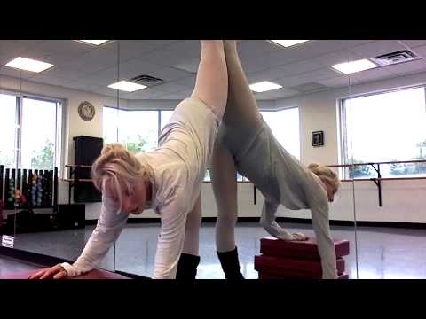 """Stretches to help improve standing splits or """"needles!"""""""