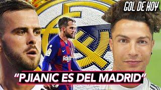PJANIC, el nuevo fichaje del BARCA es del MADRID | CRISTIANO sorprende en redes sociales