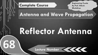 Reflector Antenna basics, Working & Radiation in Antenna and Wave Propagation by Engineering Funda