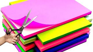 10 PAPER CRAFT IDEAS  HOW TO MAKE PAPER THINGS