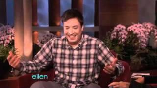 The Hilarious Jimmy Fallon Visits Ellen!