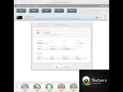 film converteren ac3 naar mp3 geluid met free video converter