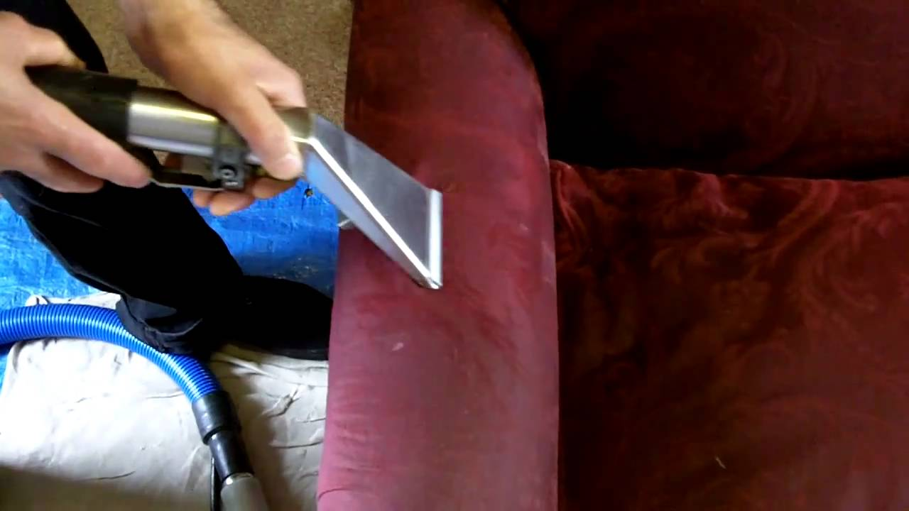 How To Clean Dirty Arm Chair Upholstery   YouTube
