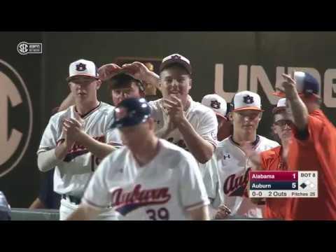 Auburn University Sports - Auburn Baseball vs Alabama Game 1 Highlights