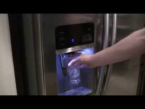 Samsung french door fridge water dispenser