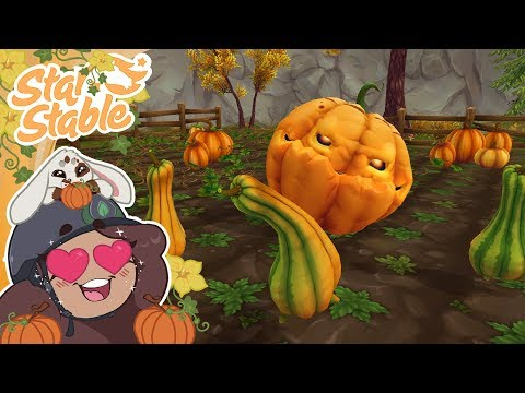 A Patch of Possessed Pumpkins?! New Pet?!  Star Stable Halloween Update!