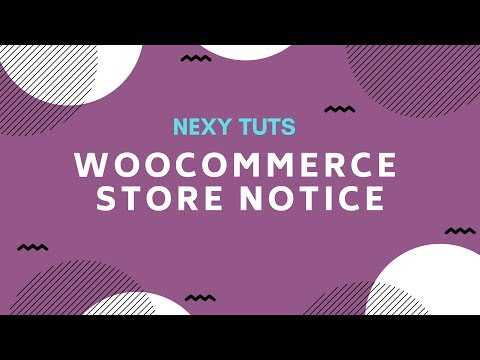 01. How to add WooCommerce Store notice thumbnail