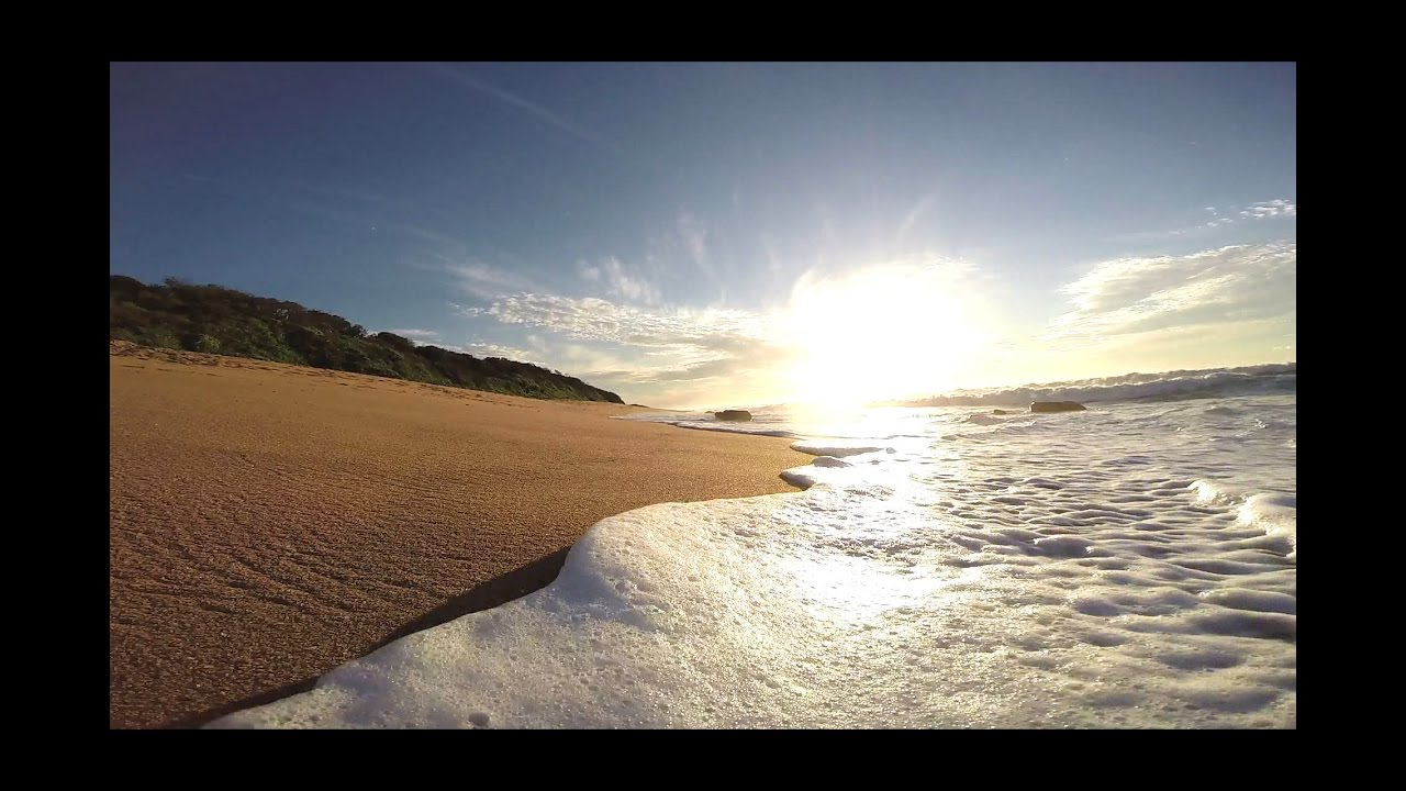 Waves Washing Onto The Beach - Royalty Free Hd Video Stock -9340
