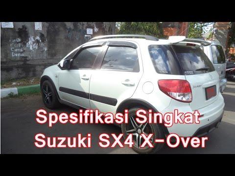 Spesifikasi Singkat Suzuki Sx4 X Over Youtube
