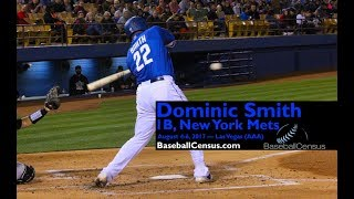 Dominic Smith, 1B, New York Mets — August 4-5, 2017