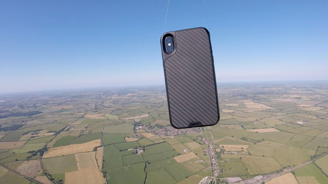 new arrival 2550a 45138 mous.co - Watch us Drop our iPhone X Case from Space!