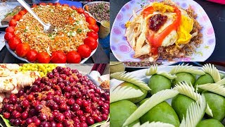 Asian Street Food, Fast Food Street in Asia, Cambodian Street food #275