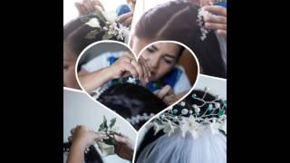 Proyecto Tocados con flores de Porcelana Fría Jackeline Hamelius