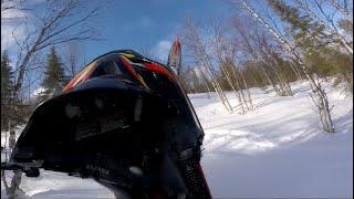 Piped Yamaha 700 Triple Climbing | Raw Sound