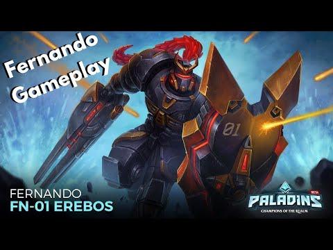 Nando Is Back | Fernando Gameplay [Paladins]