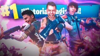 A POR VICTORIAS CON AMIGOS en Fortnite: Battle Royale!