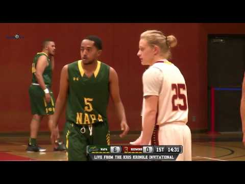 Napa Valley vs College of the Redwoods Men's Basketball LIVE 12/14/17