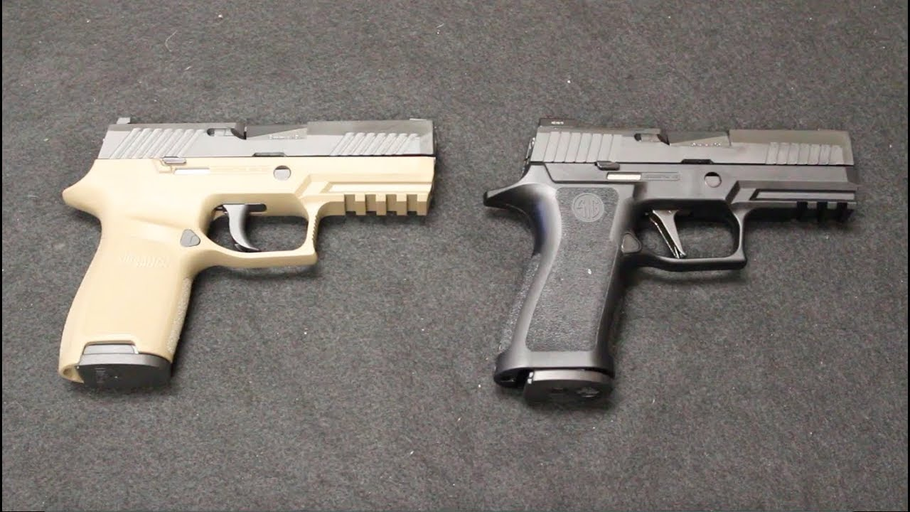 Sig P320 X Carry vs P320 Compact