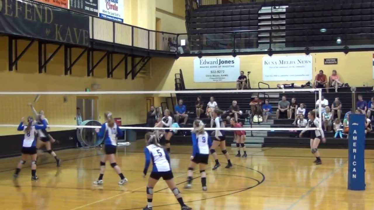 2013 Cole Valley Christian Volleyball Kuna Classic - YouTube