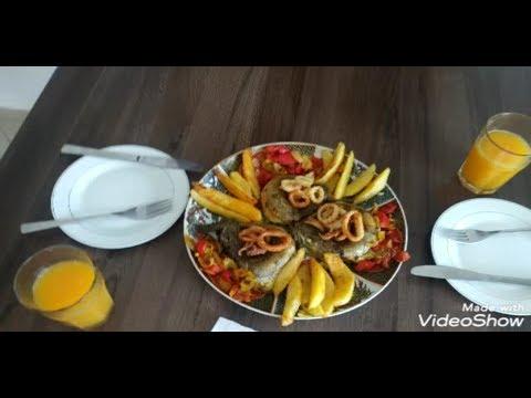 فلوق ٢#ايمي ودار#  ووجدوا معايا وجبة غداء سريعة من خيرات المنطقة