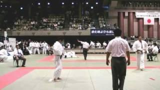柔道:背負投(JUDO SEOI-NAGE) 2010全日本実業柔道団体対抗大会