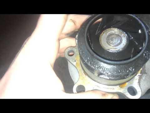 Passat b5 Замена ремня ГРМ, помпы, демпфера, ролика натяжителя