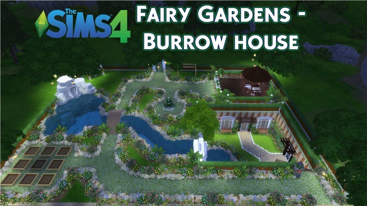 The Sims 4 | Speed Build | Fairy Gardens - Burrow House | Pt 1