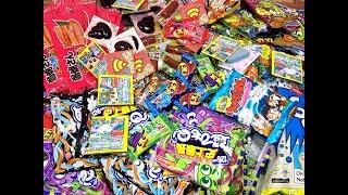 Khui thùng hàng rất nhiều bánh kẹo Nhật Bản mới về thêm tại shop Bông Hoa Nhỏ