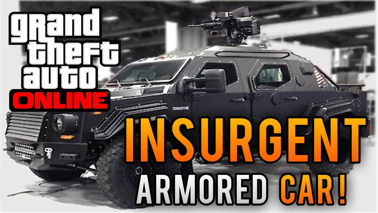 gta 5 heists dlc new vehicle showcase insurgent w