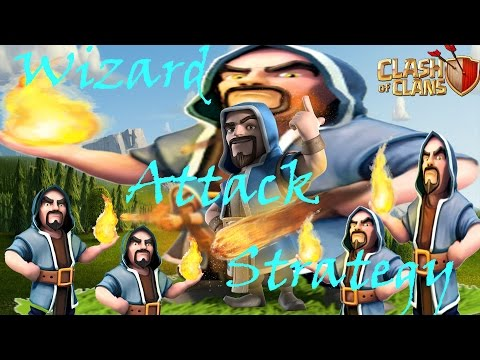 Wizard Attack Strategy for town hall 7 🔶 Clash of Clans 🔶 CoC