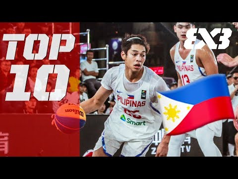 Top 10 Philippines Plays Of 2018 Ft. Ricci Rivero, Stanley Pringle & More! - FIBA 3x3
