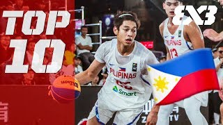 Top 10 Philippines Plays of 2018 ft. Ricci Rivero, Stanley Pringle & more! - FIBA 3x3