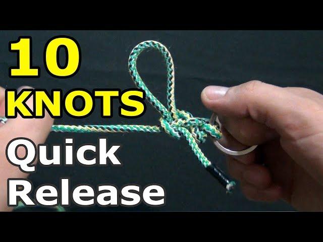 10 Quick Release Knots   Useful knots – Part 2
