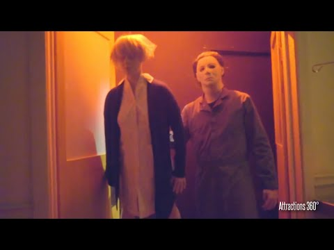 Halloween: Michael Myers Maze 2016 - Hollywood Halloween Horror Nights
